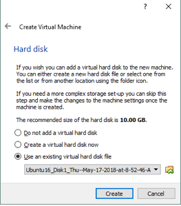 Adding a virtual hard disk that was exported from a backup with NAKIVO Backup & Replication's Backup Export for Cross-Platform Recovery